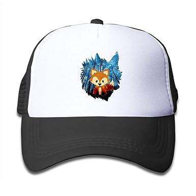 Amazon.com: Galaxy Wolf Inside Fox - Gorras de baloncesto ...