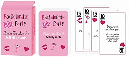 bridal shower game gifts bachelorette party parties games scavenger hunt supplies favors decorations divorce party dare