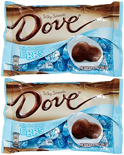Dove Chocolate Easter Eggs - Milk Chocolate - 8.87 oz