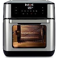 Instant Pot 140-3033-01-AU Vortex Plus Air Fryer Oven, Stainless Steel, 10L Silver