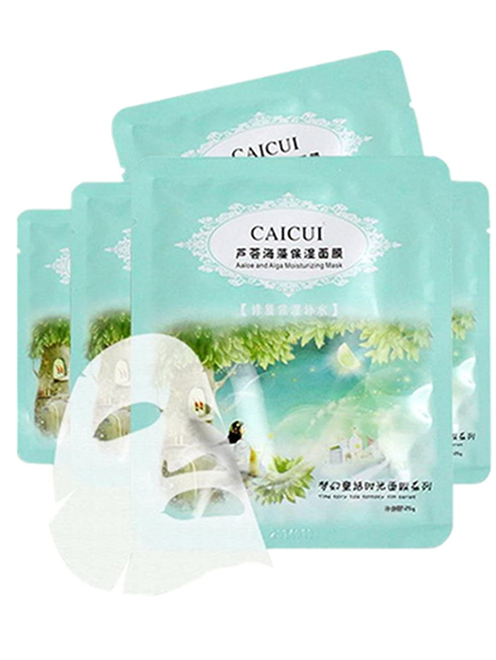 Amazon.com: Sunward seaweed Intensive Hydrating Facial Mask Skin to Reduce  the Appearance of Fine Lines,Wrinkles Face Mask: Clothing