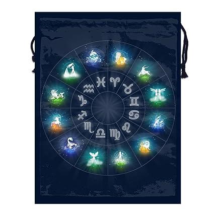 2e5fe84f9f4c Amazon.com: Mintslove Portable Storage Bag Zodiac Circle Funny ...