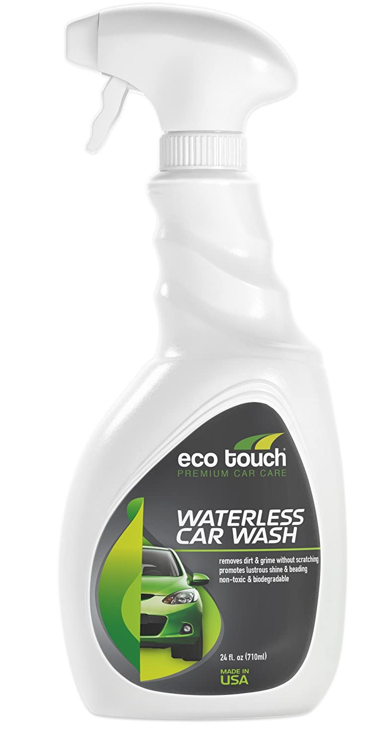 Eco Touch WCW24 Waterless Car Wash, 24-Ounce
