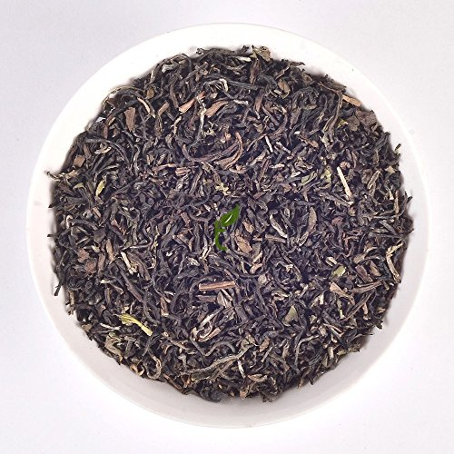 Supreme Quality Delicate Darjeeling Tea Muscatel Magic Indian Chai Black Tea Organic Loose Leaves Single Estate Direct From Source (makes 50 to 500 Cups) #5124 Spiced Vanilla 16 Oz Jar