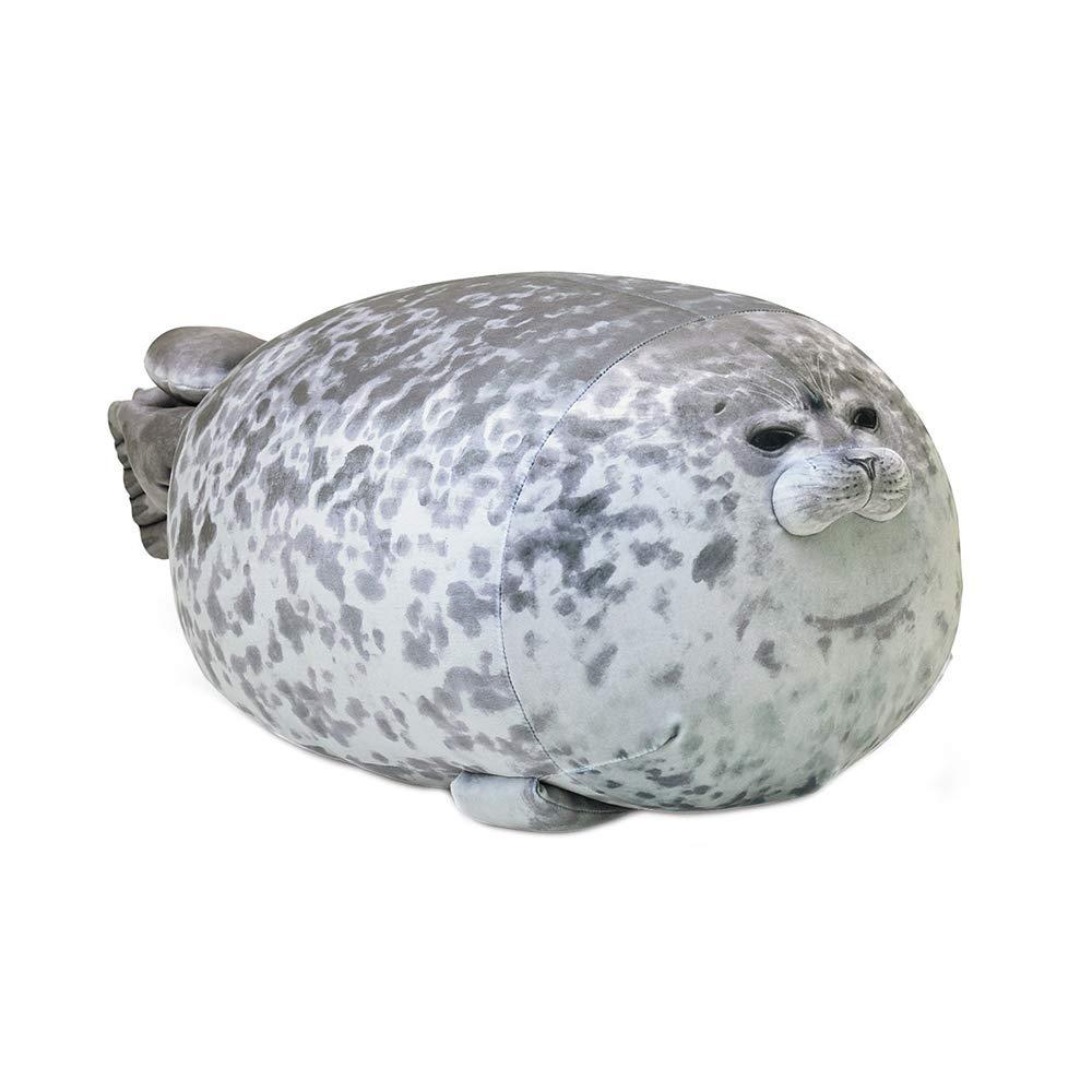 MJTP Simpatico Pupazzo di Peluche con foca Peluche Chubby Blob Guarnizione Giocattolo Cuscino Peluche Animali Cuscino Animali Oceano