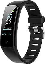 BingoFit Slim Fitness Tracker Watch, Kids Activity Tracker Heart Rate Watch,