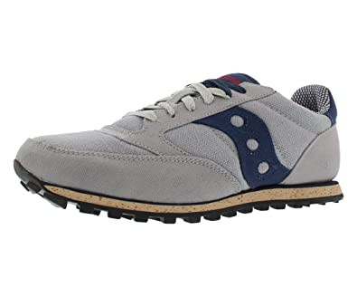 Womens Shoes Saucony Originals Jazz Low Pro Vegan Grey/Blue
