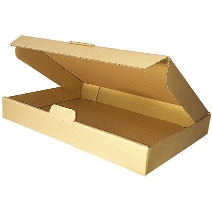 25x Maxibrief Karton 350 x 250 x 50 mm Verpackung DIN A4 Faltschachtel
