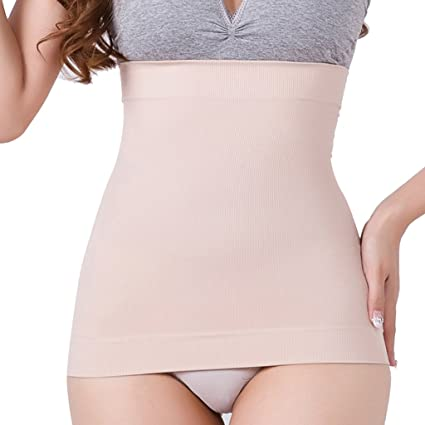 9bbb66b65e Dovewill Seamless Corset Liner Undergarment Waist Liner Tube Top Tummy Tuck  Belt Girdle Breathable and Very