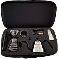 coffee maker set for v60-8 pieces in travel bag best quality