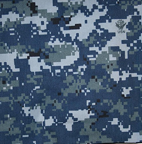 US Navy NWU Digital Blue Nyco Twill 65