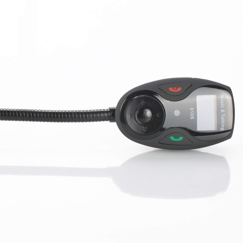 REFURBISHHOUSE 610S Car Mp3 Player Faceband Car Bluetooth Manos Libres Reproductor De M/úsica