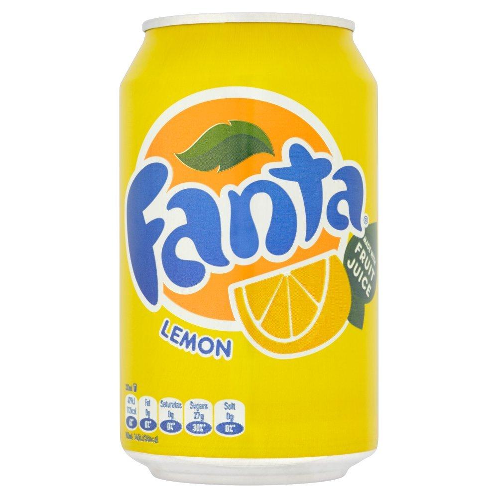 Fanta Lemon 330ml (Pack of 24)