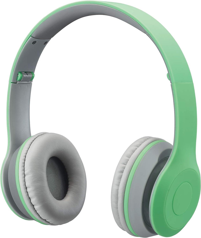 iLive Electronics IAHB38 Bluetooth Over-The-Ear Headphones, Teal