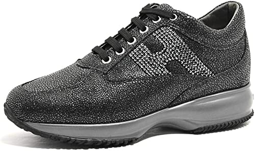 Hogan Scarpe Donna Hxw00n02010jebb999 Interactive H Strass Ai18 Nero Amazon Co Uk Shoes Bags