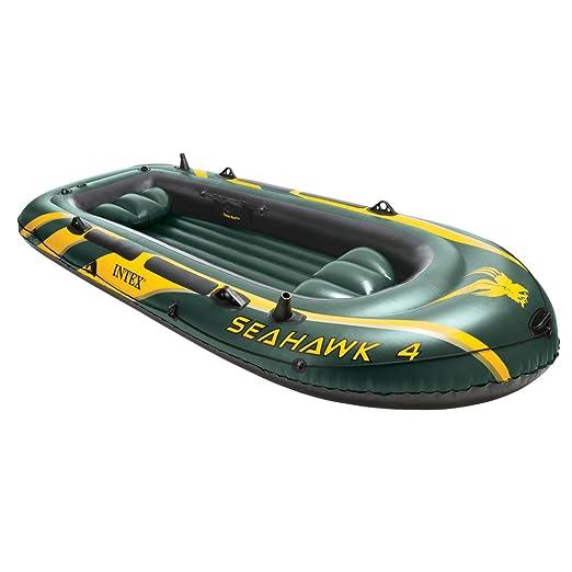 Intex Seahawk 4 - Barco hinchable, máximo 400 kg, 351 x 145 x 48 ...