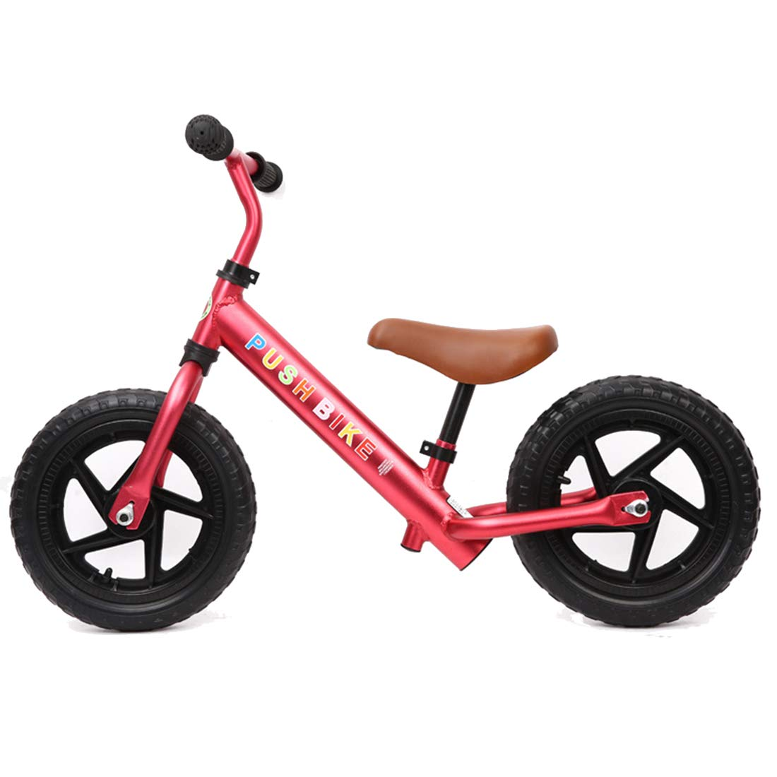 Red 12 inches GRXXX Baby Balance Car Without Pedal Twowheeled Slide Car Driving Multifunction Racing 12 inch,Red12 inches