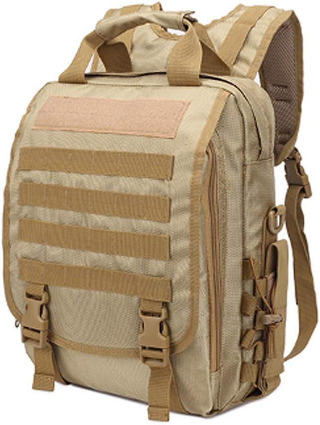 ZJPP Satchel Computer-Tasche, Outdoor Army Fan Tactical Camouflage Rucksack Männer und Frauen Multifunktions-Rucksack Military,COL2