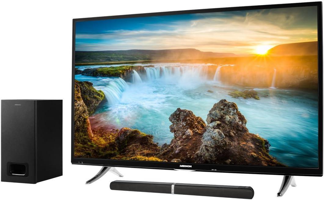 MEDION Life e64126 MD 80122 2.1 Bluetooth Barra de Sonido Life x18089 MD 31208 139,7 cm (55 Pulgadas UHD) televisor: Amazon.es: Electrónica