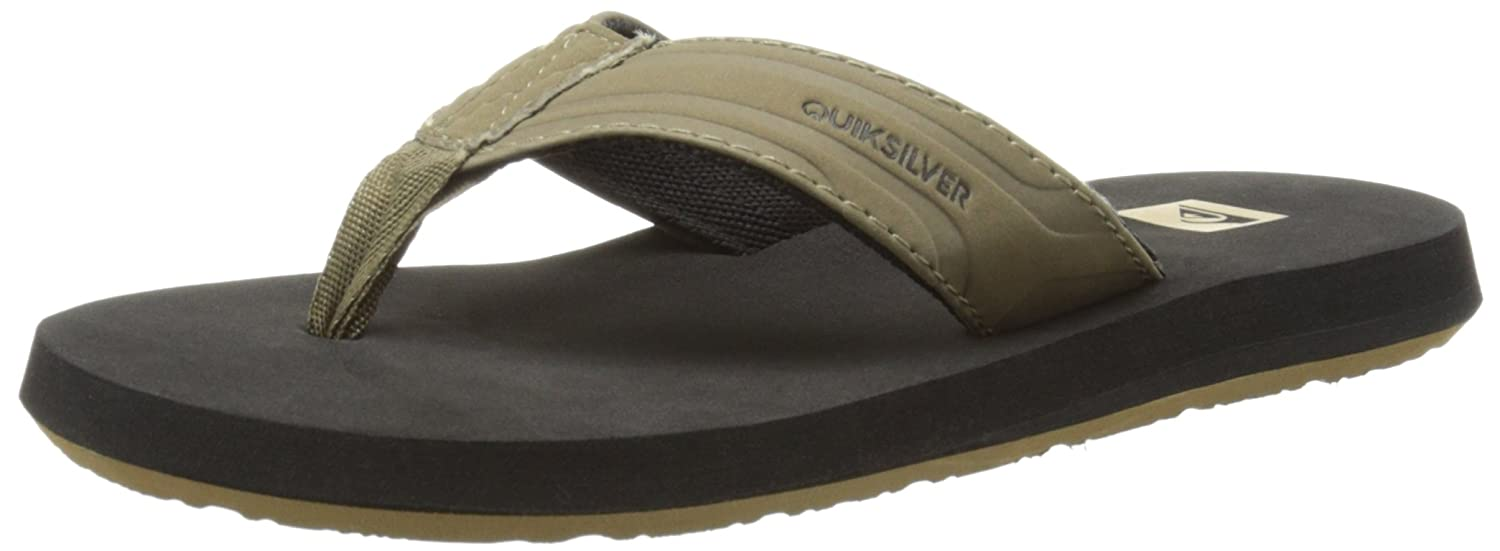 Quiksilver Youth Monkey Wrench Flip-Flop (Little Kid/Big Kid) Quiksilver Kids Footwear