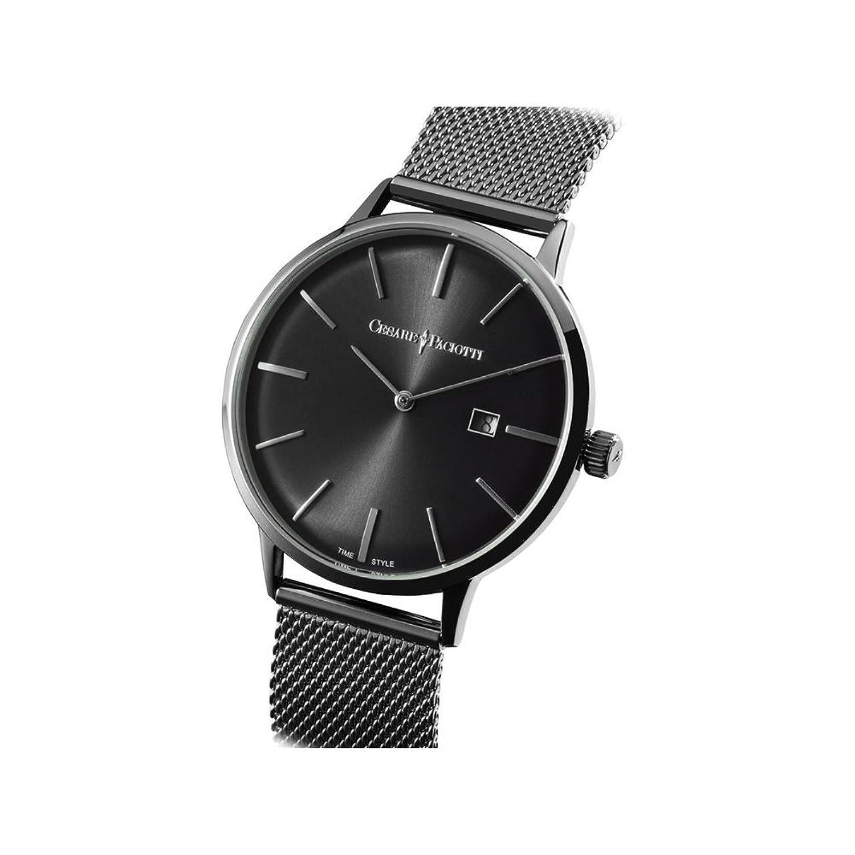 Uhr Cesare Paciotti Herren 42 mm tsst128 nur Zeit Armband Stahl Trikot Milano