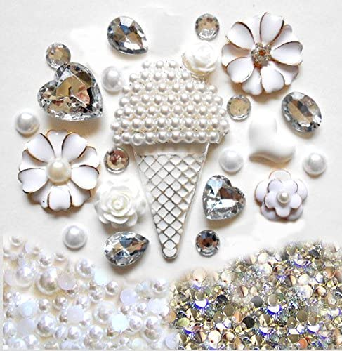 102050pcs Cake Cabochon Embellishments Cabs Decoration For Phone Case Flat Back Assorted Button Beads Hair Accessories Earring