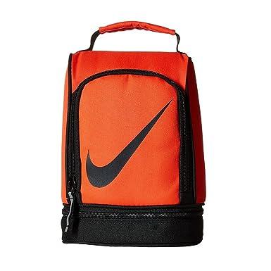 Nike Kids Almuerzo Tote bolsas carmesí brillante: Amazon.es ...