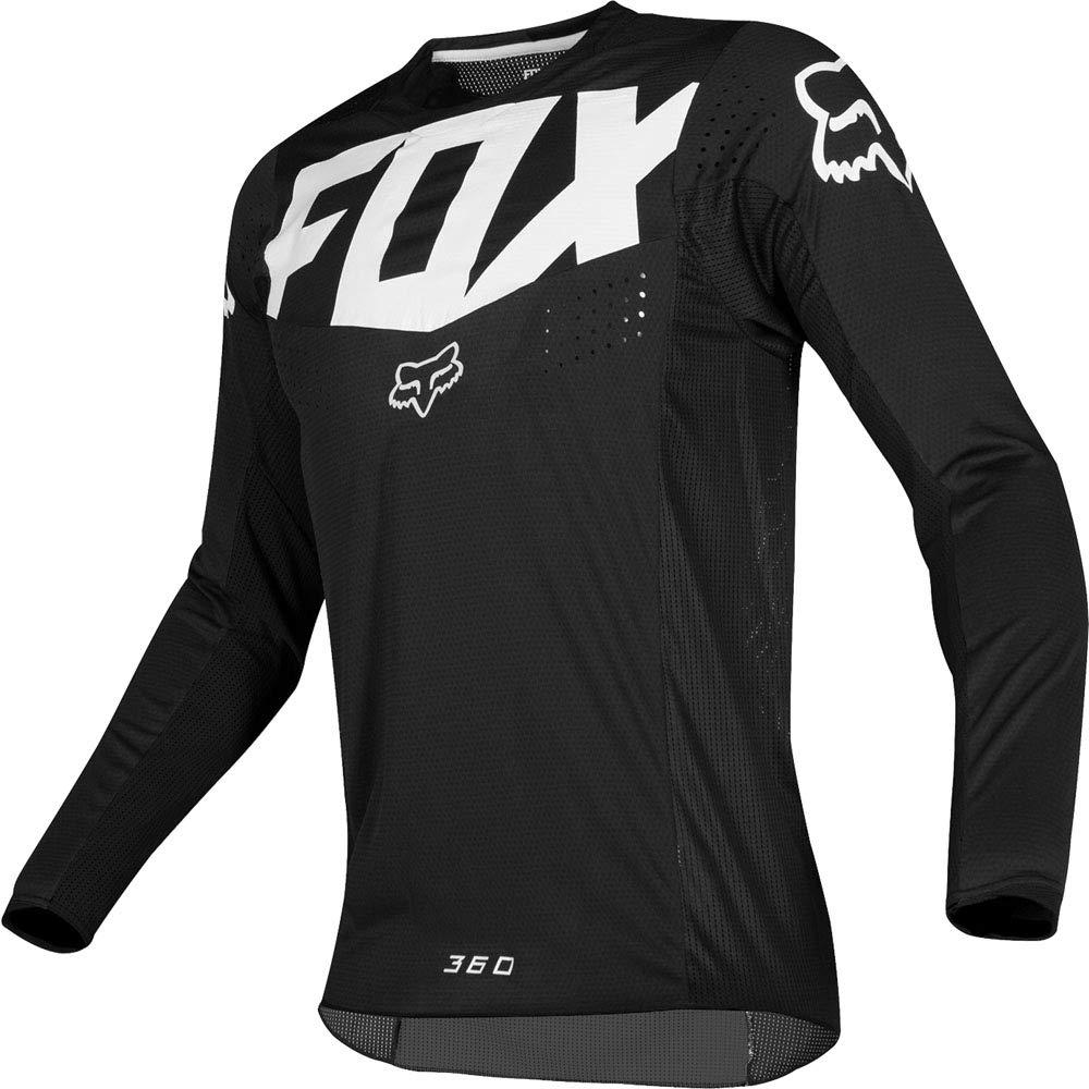 Fox Racing 2019 360 Kila Jersey-Black-M by Fox Racing