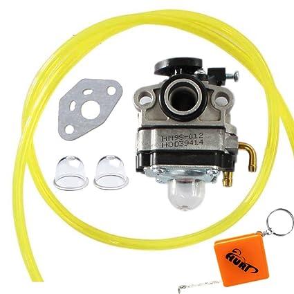 Huri - Carburador y junta para Honda FG100 GX22 GX25 GX31 GX35 - 4 ...