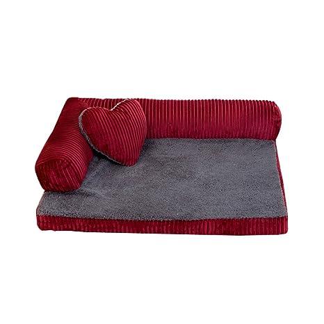 DS alfombra para mascotas Casa para perros Cat Litter Kennel Four Seasons Lobos para mascotas Suministros