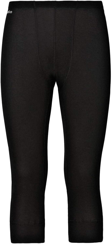 XL Intimo-Uomo Odlo Bl Bottom 3//4 Active Warm-Black
