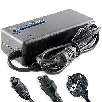 Visiodirect Adaptador cargador para ordenador portatil TOSHIBA Qosmio G20-138: Amazon.es: Electrónica