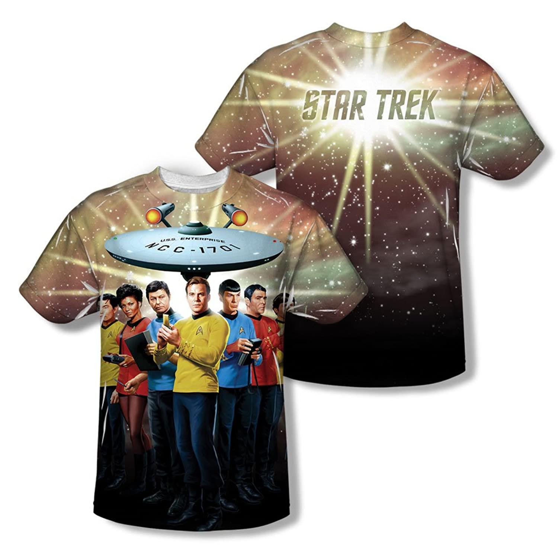 Star Trek - Mens Original Crew (Front/Back Print) T-Shirt