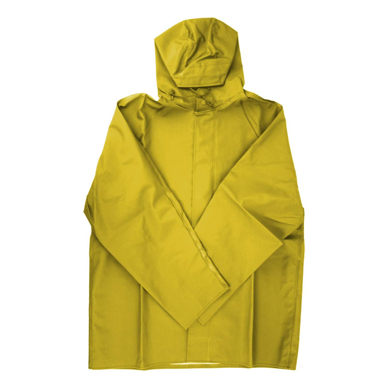Dutch Harbor Gear HD201-YEL-L Yellow Large Quinault Rain Jacket