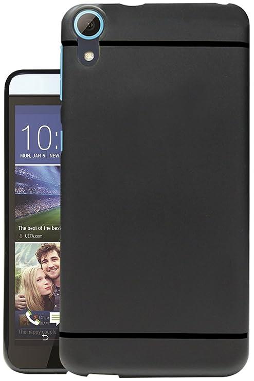 best service c03b3 239c7 Jkobi Matte+ Ultra Protection Rubberised Soft Back Case Cover for HTC One  E9s Dual Sim -Black