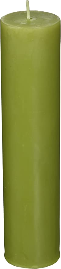 2 x 9 Sage Green Pillar Candle