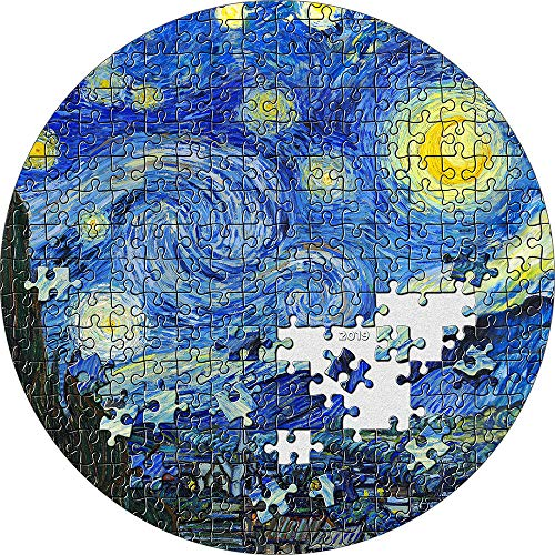 2019 PW Micropuzzle Treasures PowerCoin STARRY NIGHT Van Gogh 3 Oz Silver Coin 20$ Palau 2019 Proof from Power Coin
