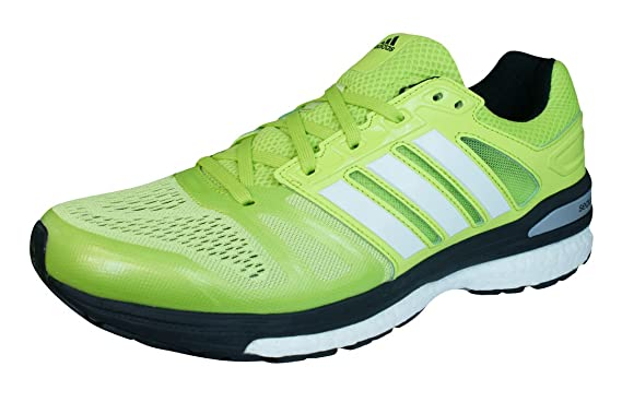 online store 72d13 a8f85 adidas Supernova Sequence 7 Mens Running Trainers Shoes-Green-8