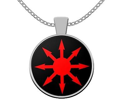 Amazon com: Esoteric Necklace - Chaos Magick Seal Sigil Pendant