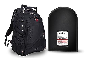 TuffyPacks Swiss Gear Mochila con Escudo antibalas extraíble: Amazon.es: Deportes y aire libre