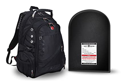 Swiss Gear Backpack with Removable Bulletproof Ballistic Shield
