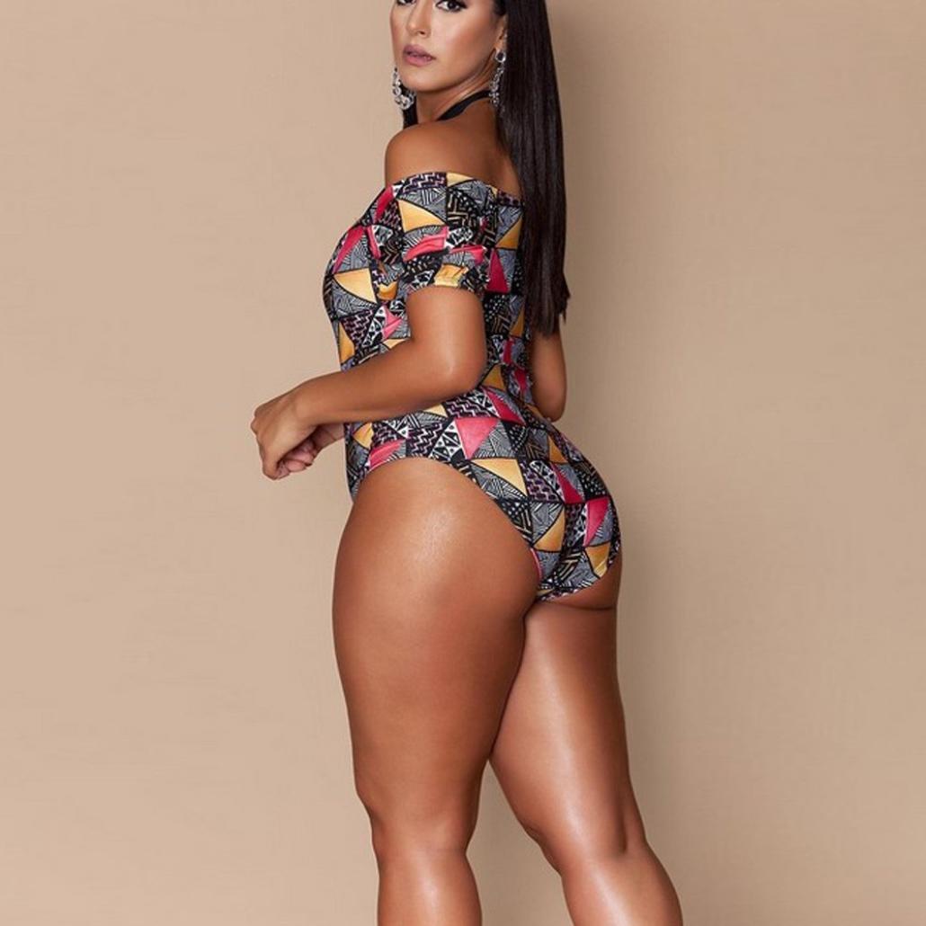 9efc9b62b9f7a Paymenow Women Bikini Plus Size Geometric Print Criss Cross Halter Neck  Tankini One Piece Bathing Suits Swimsuit Khaki at Amazon Women s Clothing  store