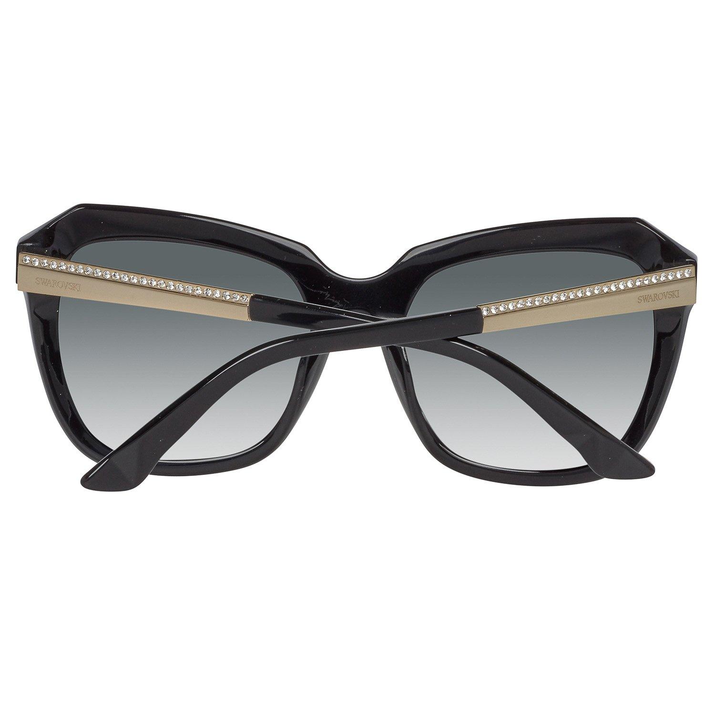 55 sol sol negras negras Sk0115 para de gafas Amazon Swarovski 5501a Ropa mujer es de Gafas 7vxw00