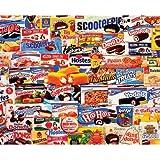White Mountain Puzzles Tasty Treats - 1000 Piece Jigsaw Puzzle