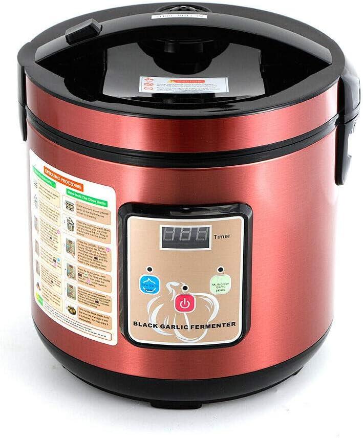 BoTaiDaHong Black Garlic Fermenter Full Automatic Intelligent Black Garlic Maker DIY Tool 360/° Heating 6L 90W 110V
