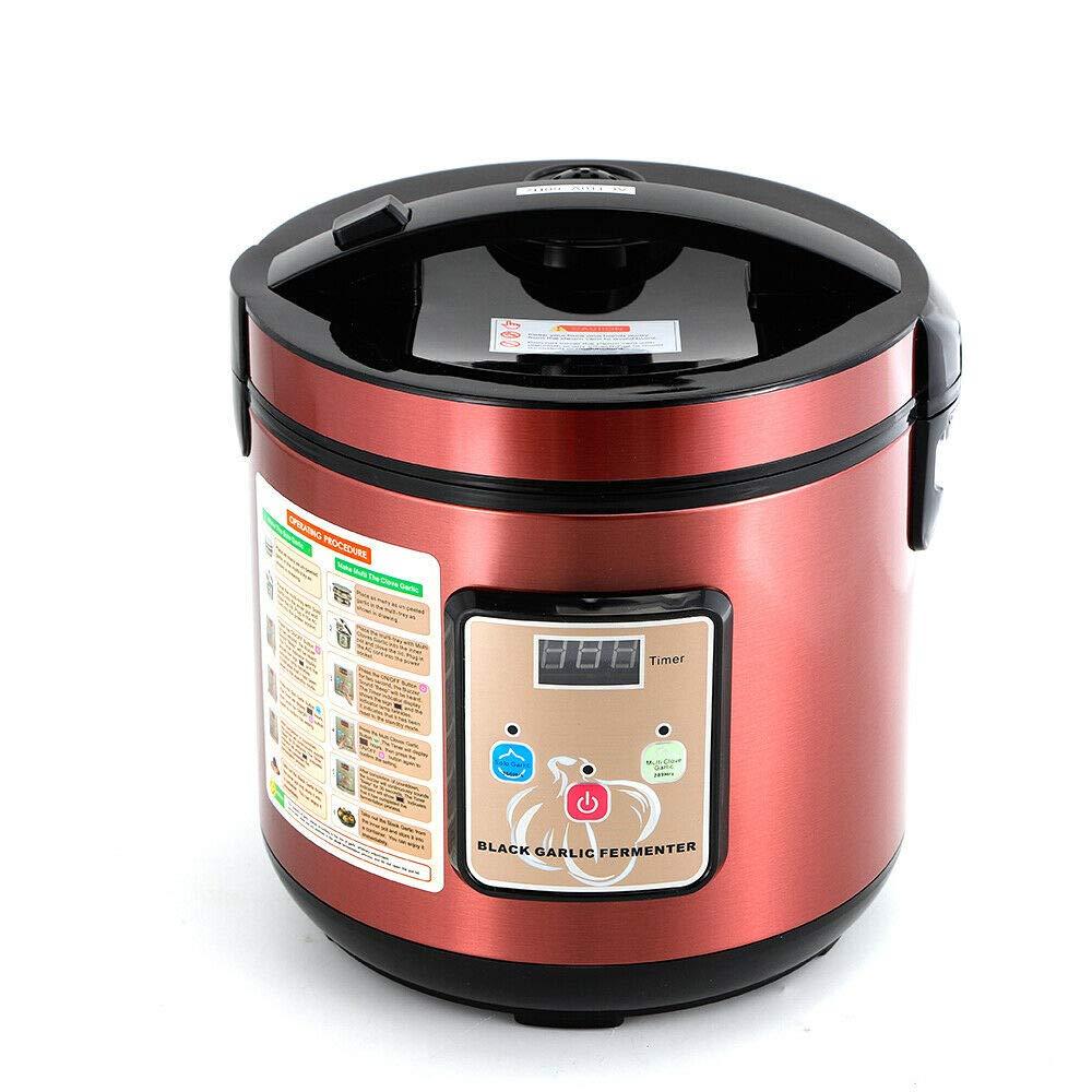 BoTaiDaHong Black Garlic Fermenter Full Automatic Intelligent Black Garlic Maker DIY Tool 360° Heating 6L 90W 110V by BoTaiDaHong