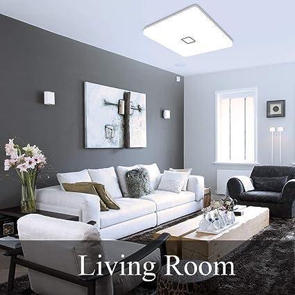 Amazon.com: Lámpara de techo LED de 24 W, Airand de 5000 K ...