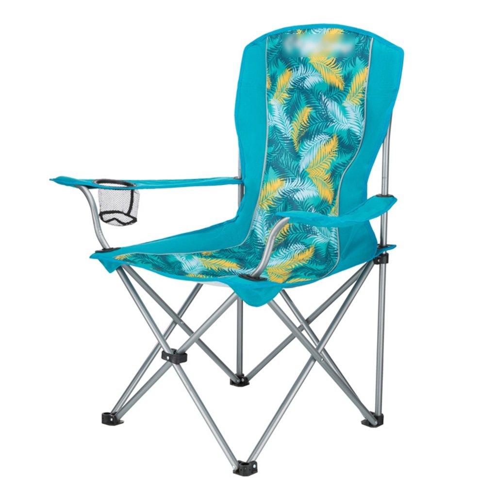 ZGL 旅行椅子 屋外折りたたみチェアポータブルビーチカジュアルチェア折りたたみ釣り用スツール背もたれ椅子屋外椅子の色オプション ( 色 : Green-2 ) B07CG8NTDY  Green-2