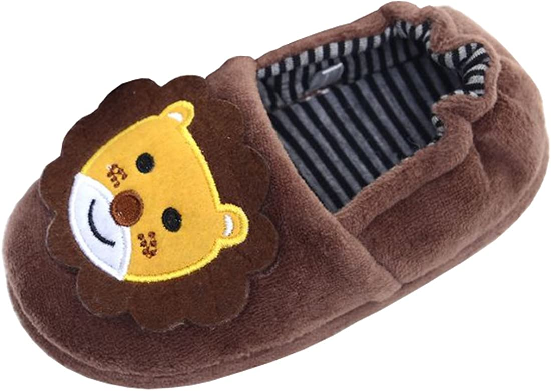 Beeliss Toddler Boys Slippers Cartoon Puppy Crochet Shoes