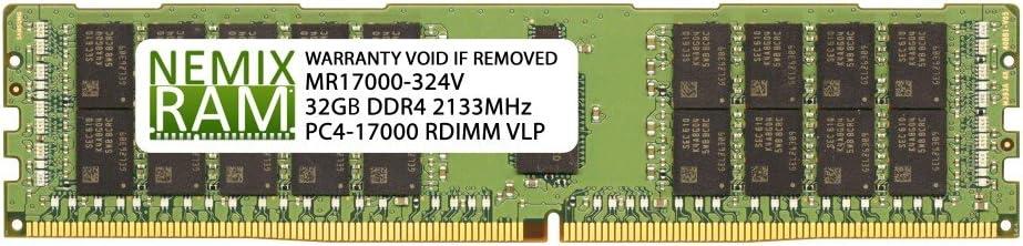 Supermicro MEM-DR432L-SV01-ER21 32GB DDR4 2133 VLP RDIMM Server Memory RAM